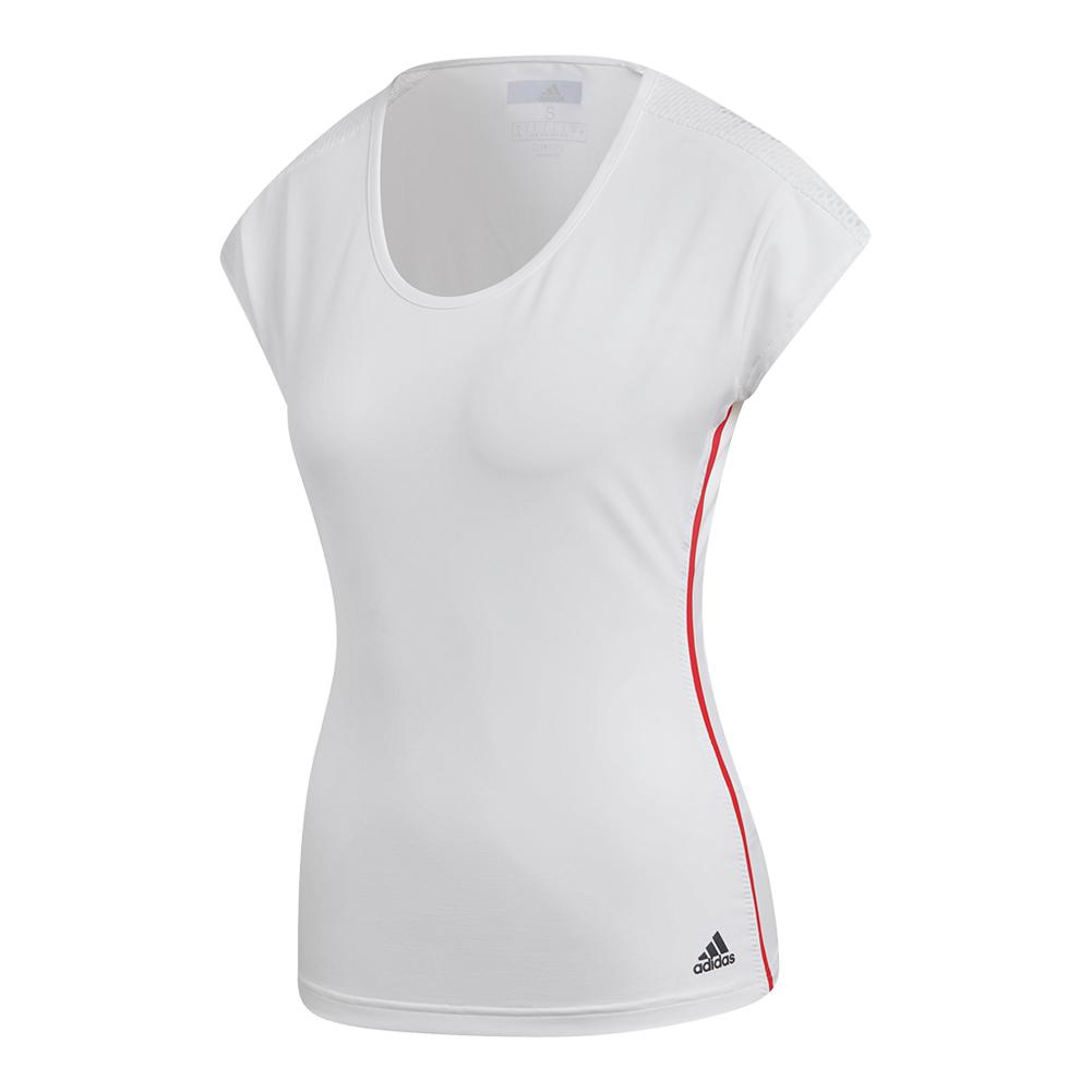 Women's Barricade Tennis Tee White