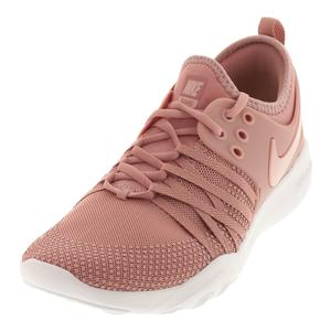 Women`s Free TR 7 Training Shoes Rust Pink and Coral Stardust
