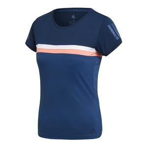 Women`s Club Tennis Tee Collegiate Navy