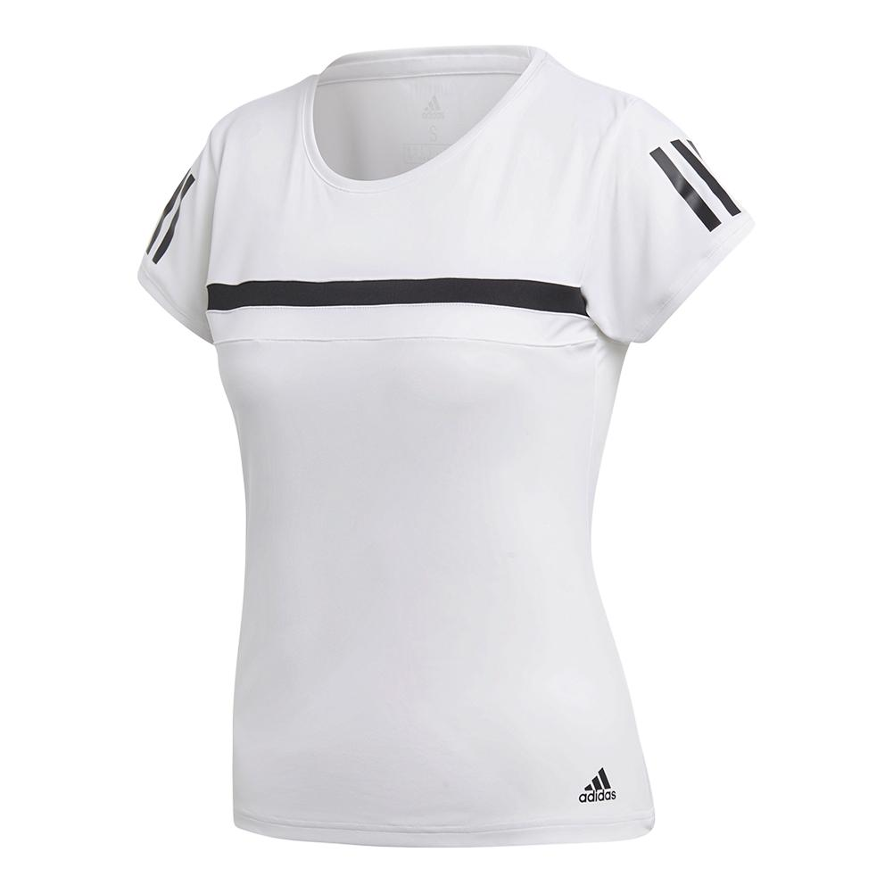 Women's Club Tennis Tee White