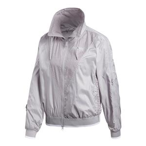 Women`s Stella McCartney Barricade Tennis Jacket Pearl Gray