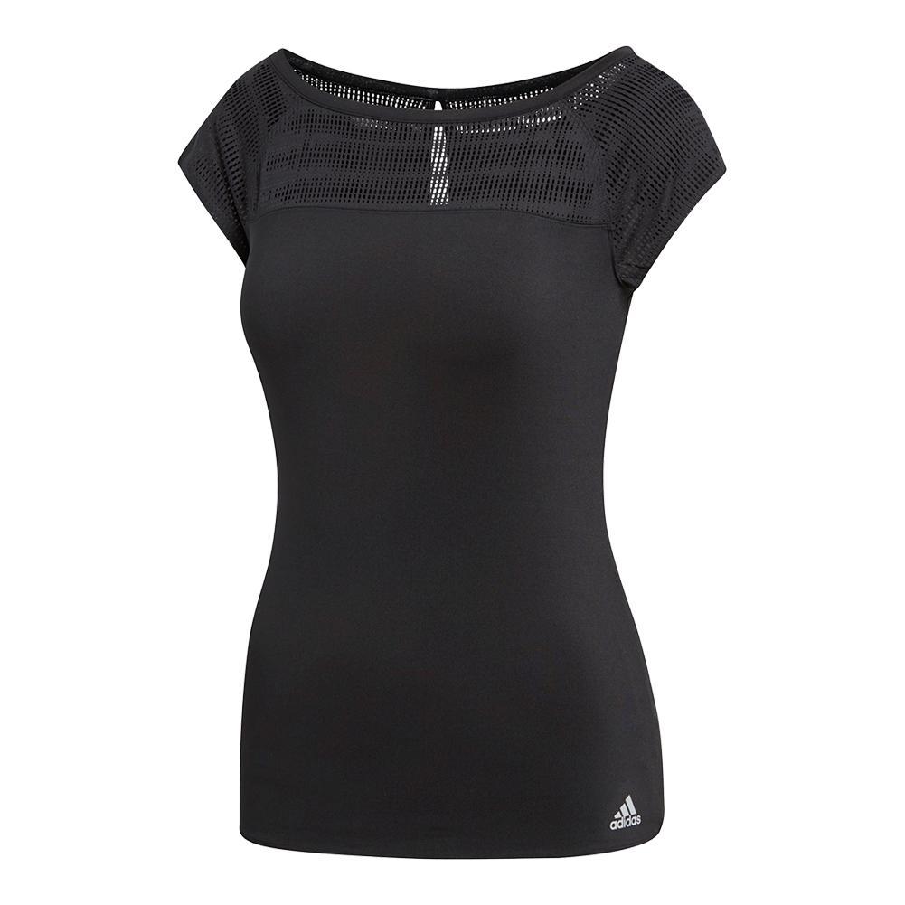 Women's Advantage Tennis Tee Black