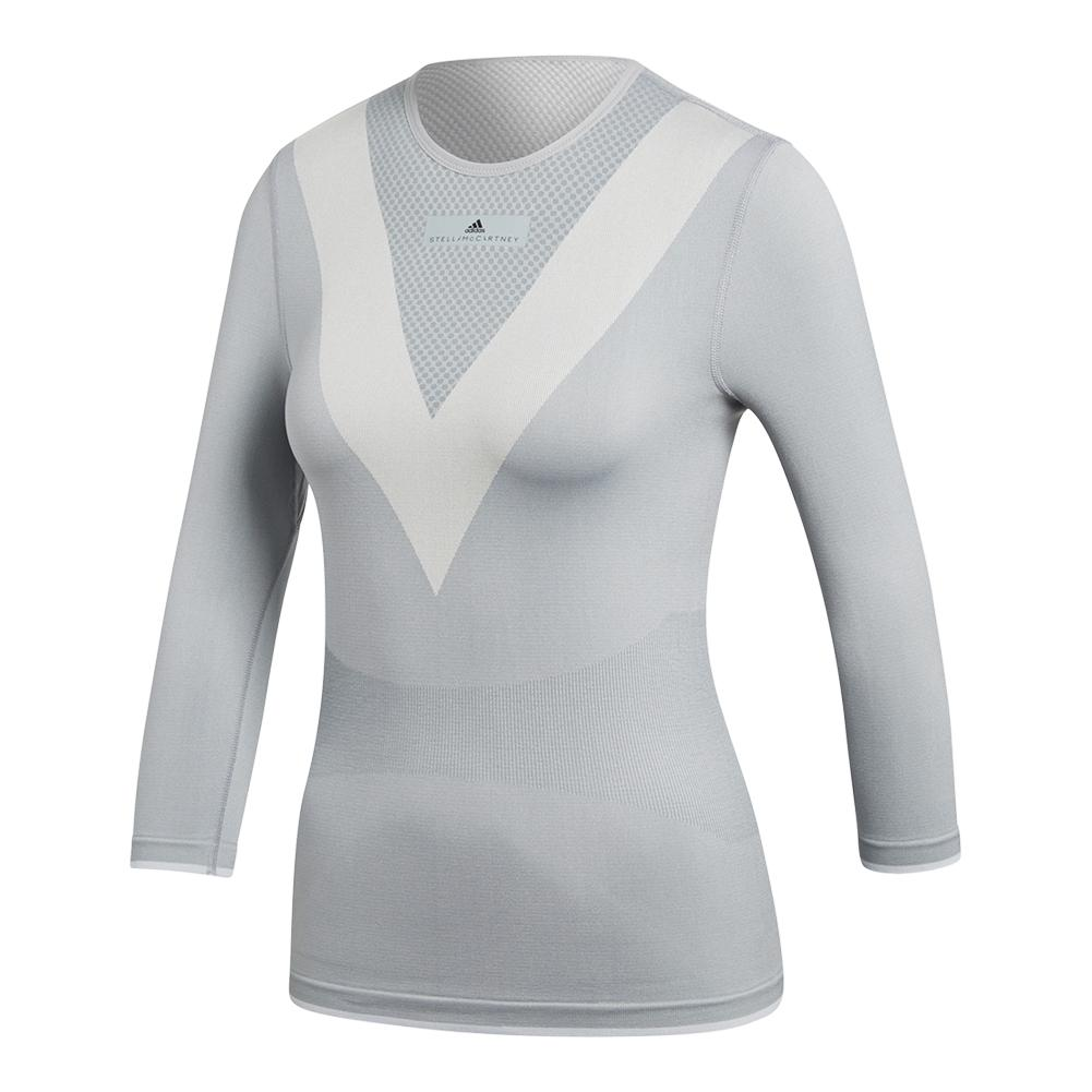 Adidas  mujer 's Stella McCartney barricada de manga larga camiseta de tenis