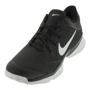 Juniors` Air Zoom Ultra Tennis Shoes Black and White