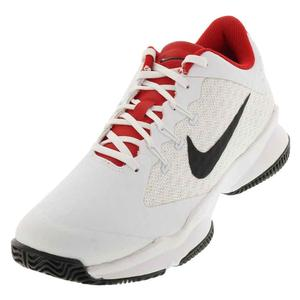 Juniors` Air Zoom Ultra Tennis Shoes White and Black