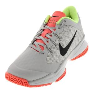 Women`s Air Zoom Ultra Tennis Shoes Vast Gray and Black