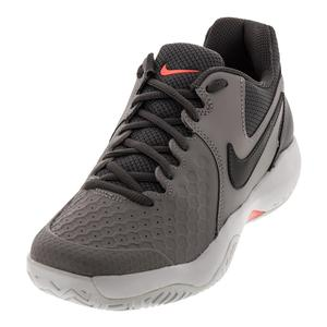 Women`s Air Zoom Resistance Tennis Shoes Atmosphere Gray and Gunsmoke