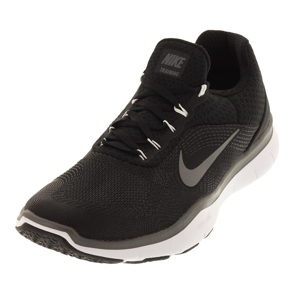 NIKE NIKE Men's Free Trainer V7 Training Shoes Black And Dark Gray
