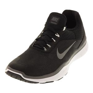 Men`s Free Trainer v7 Training Shoes Black and Dark Gray