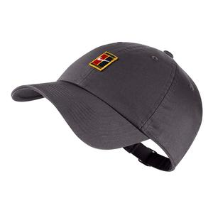 Men`s H86 Court Logo Tennis Cap Gunsmoke