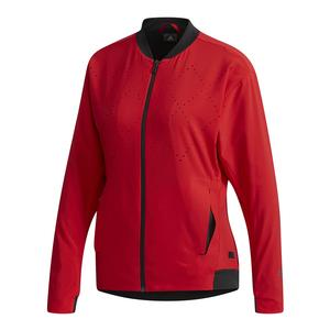 Women`s Barricade Tennis Jacket Scarlet
