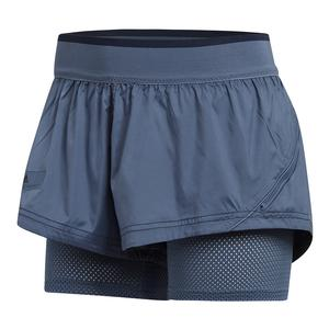 Women`s Stella McCartney Barricade Tennis Short Tech Ink