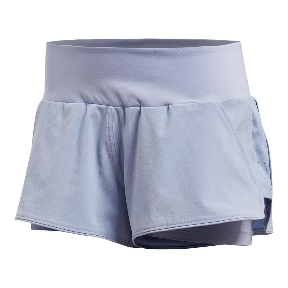Women's Advantage Tennis Short Chalk Blue