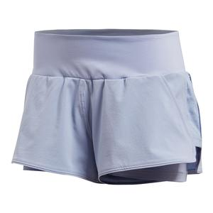Women`s Advantage Tennis Short Chalk Blue