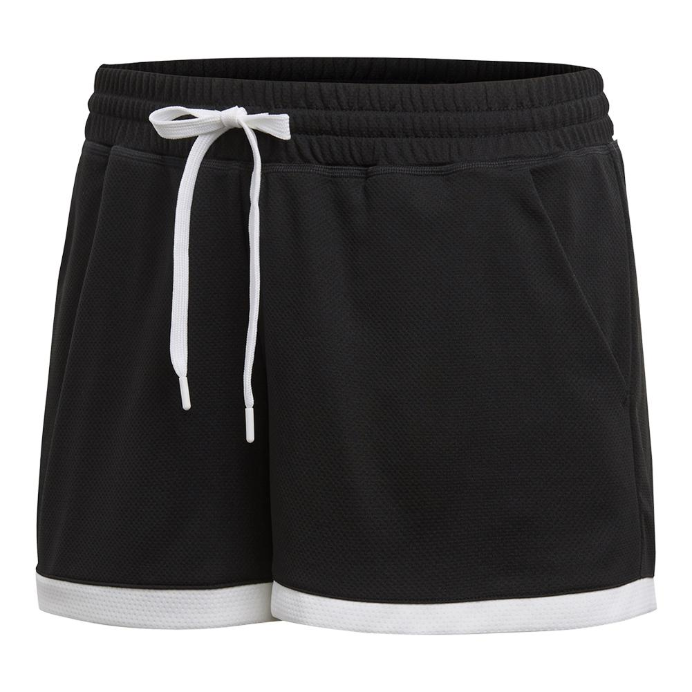 Women's Club Tennis Short Black