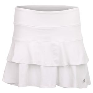 Women`s Match Tennis Skort White
