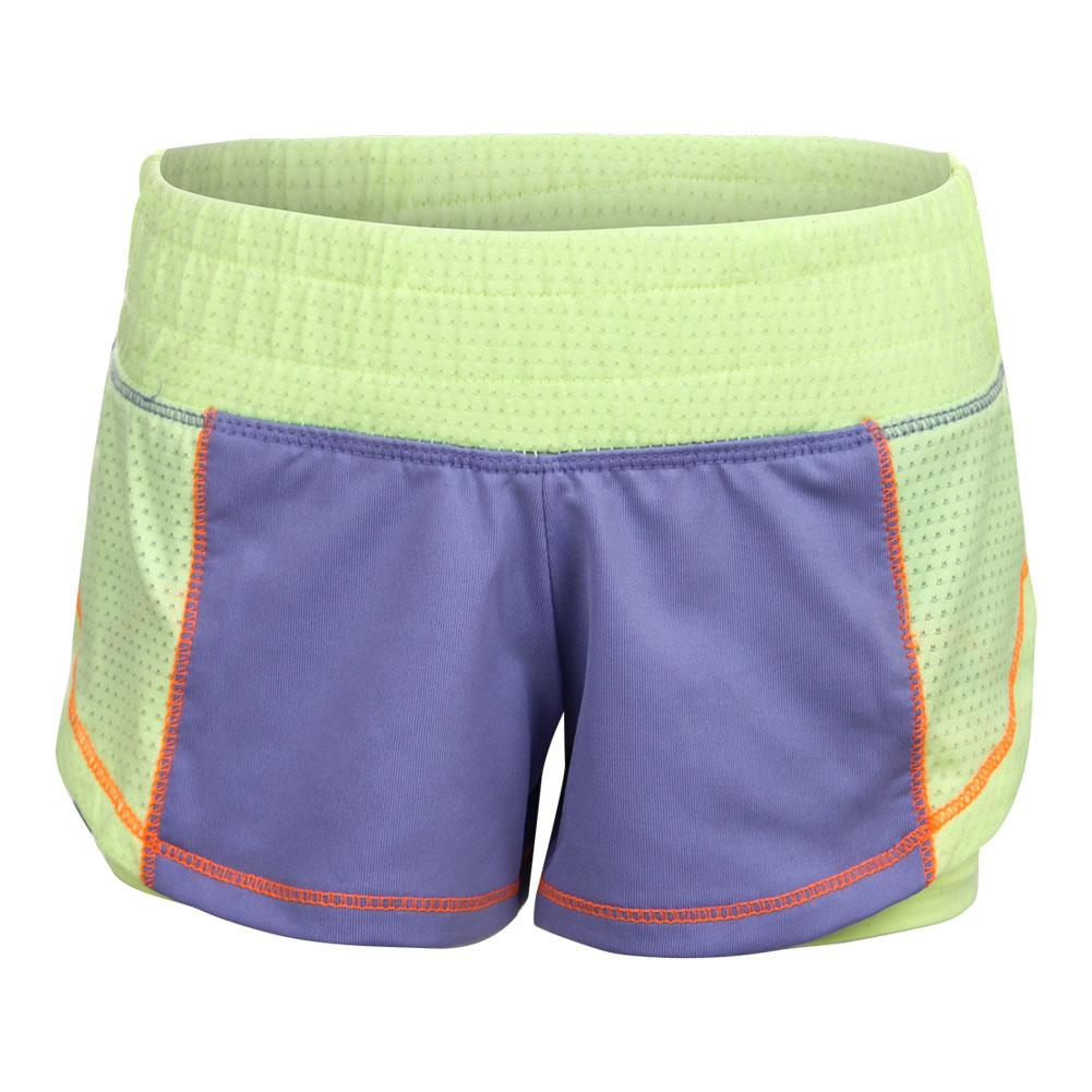 Girls ` Ultimate Training Short Lilac And Lemon Frost