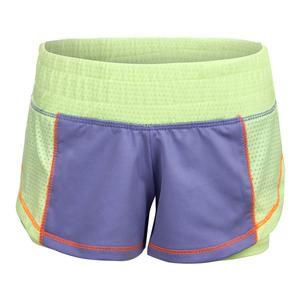Girls` Ultimate Training Short Lilac and Lemon Frost