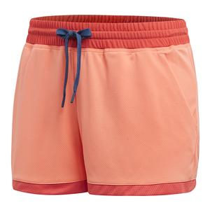 Women`s Club Tennis Short Chalk Coral