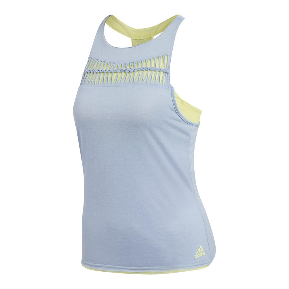 Women's Melbourne Tennis Tank Chalk Blue
