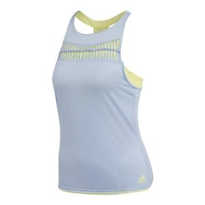 Women`s Melbourne Tennis Tank Chalk Blue
