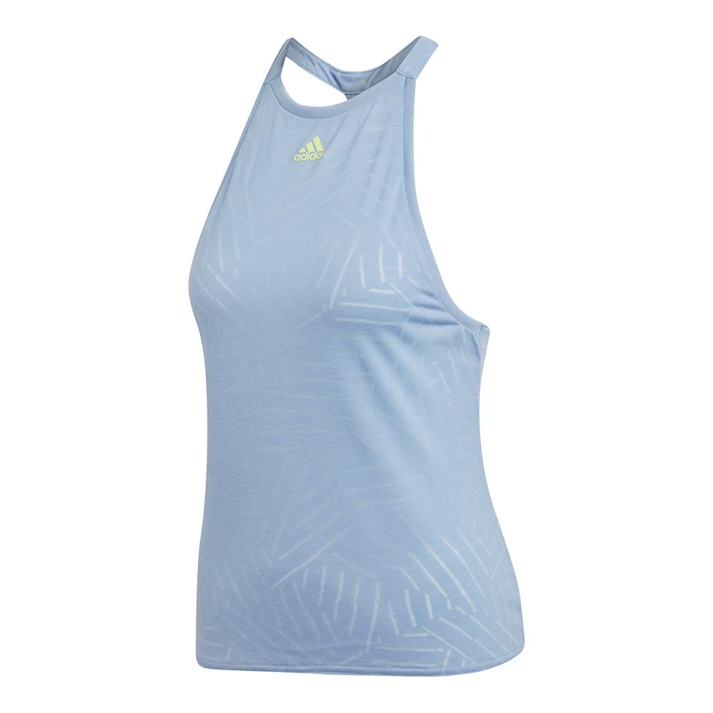 Women's Melbourne Burnout Tennis Tank Chalk Blue