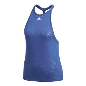 Women`s Melbourne Burnout Tennis Tank Noble Indigo