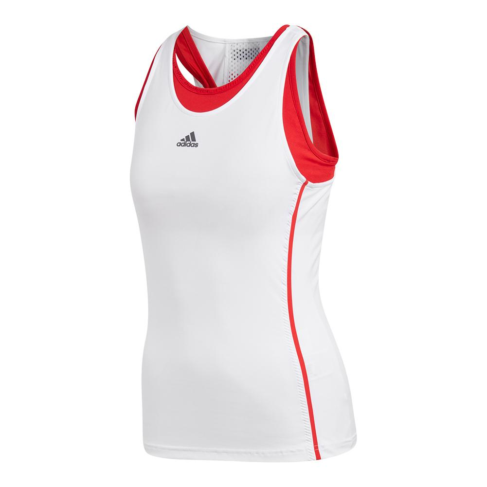Women's Barricade Tennis Tank White