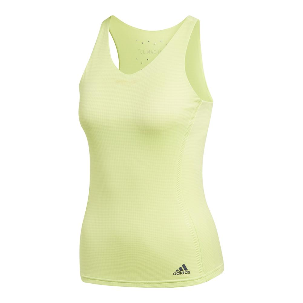 Women's Climachill Tennis Tank Semi Frozen Yellow