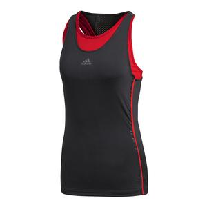 Women`s Barricade Tennis Tank Black