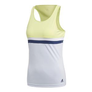 Women`s Club Tennis Tank Semi Frozen Yellow