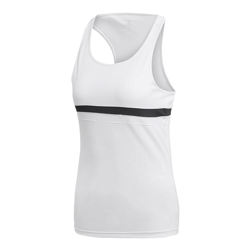 Women's Club Tennis Tank White