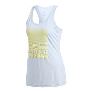 Women`s Resort Tennis Tank Aero Blue