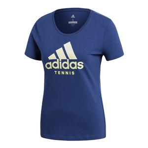 Women`s Logo Tennis Tee Noble Indigo
