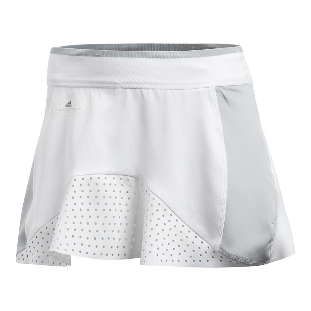 Women's Stella Mccartney Barricade Tennis Skort White And Aero Lime