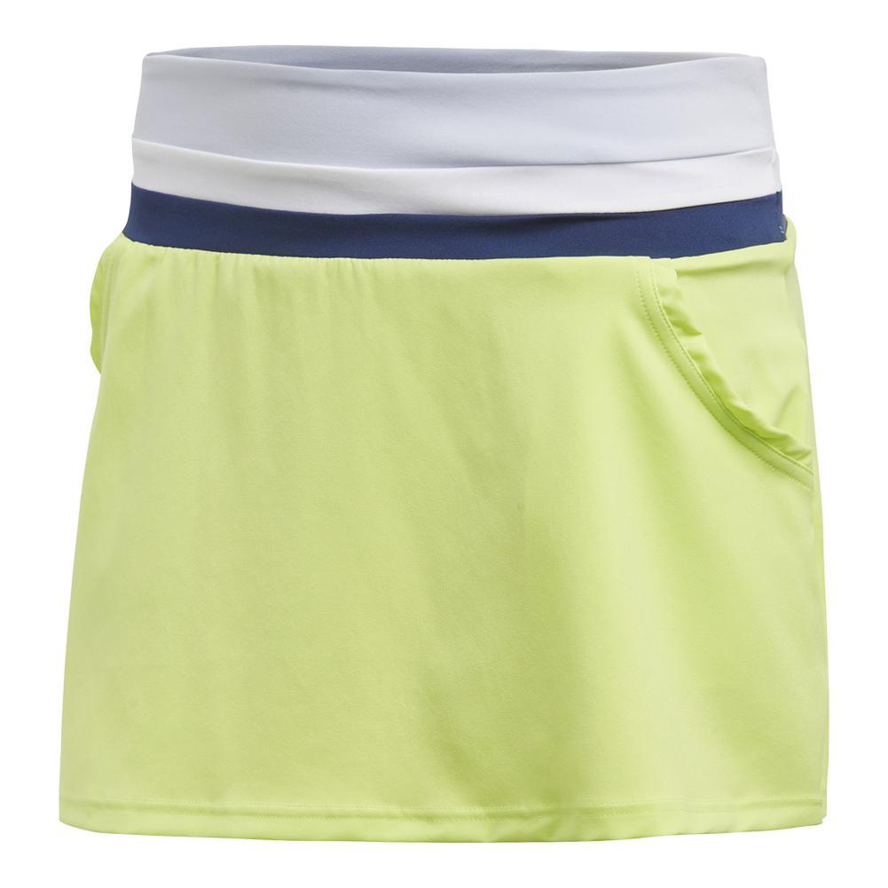 Women's Club Tennis Skort Semi Frozen Yellow