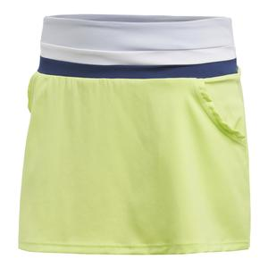 Women`s Club Tennis Skort Semi Frozen Yellow