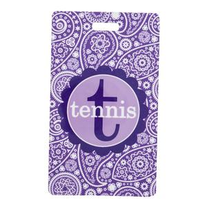 Rectangle Tennis Bag Tag