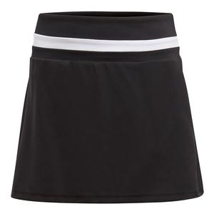 Girls` Club Tennis Skort Black