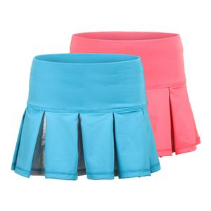 Girls` Dizzy Pleat Tennis Skort