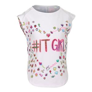 Girls` It Girl Tennis Tank White