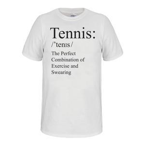Unisex Tennis Tee White