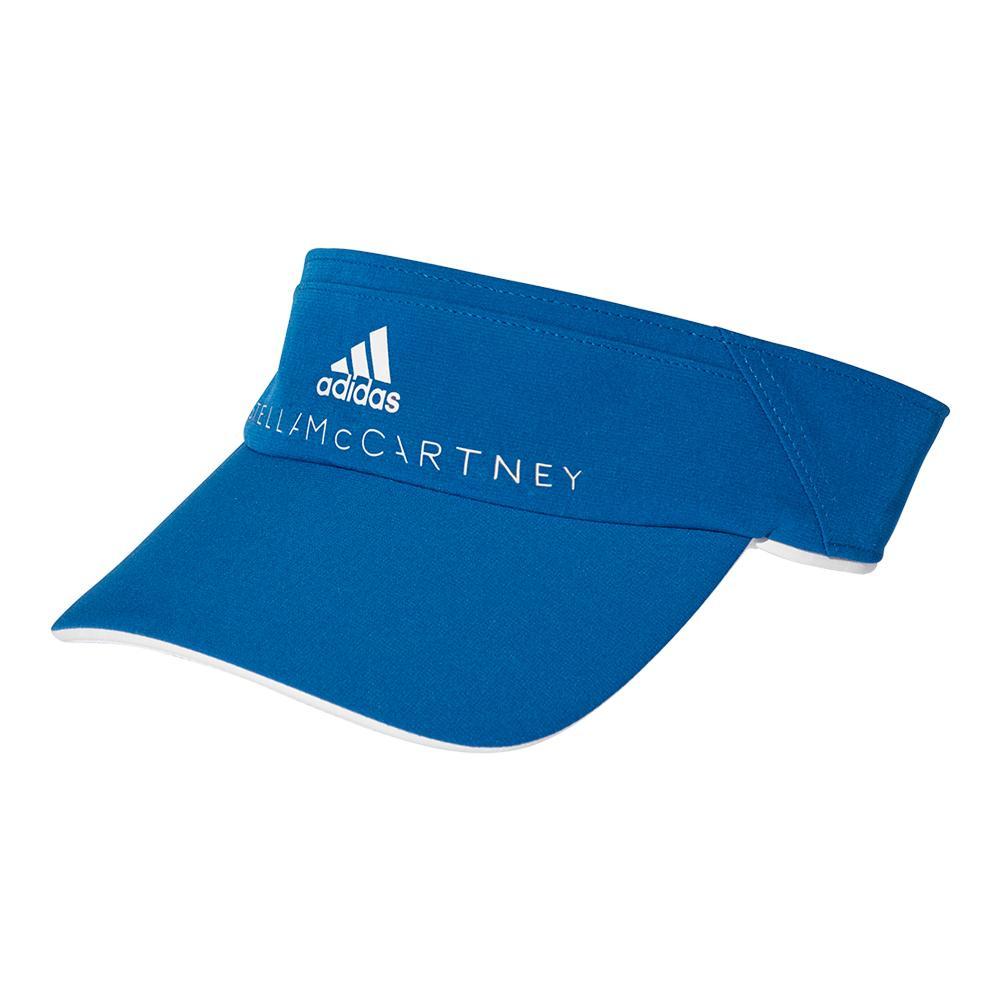 Women's Stella Mccartney Tennis Visor Equipment Blue And White