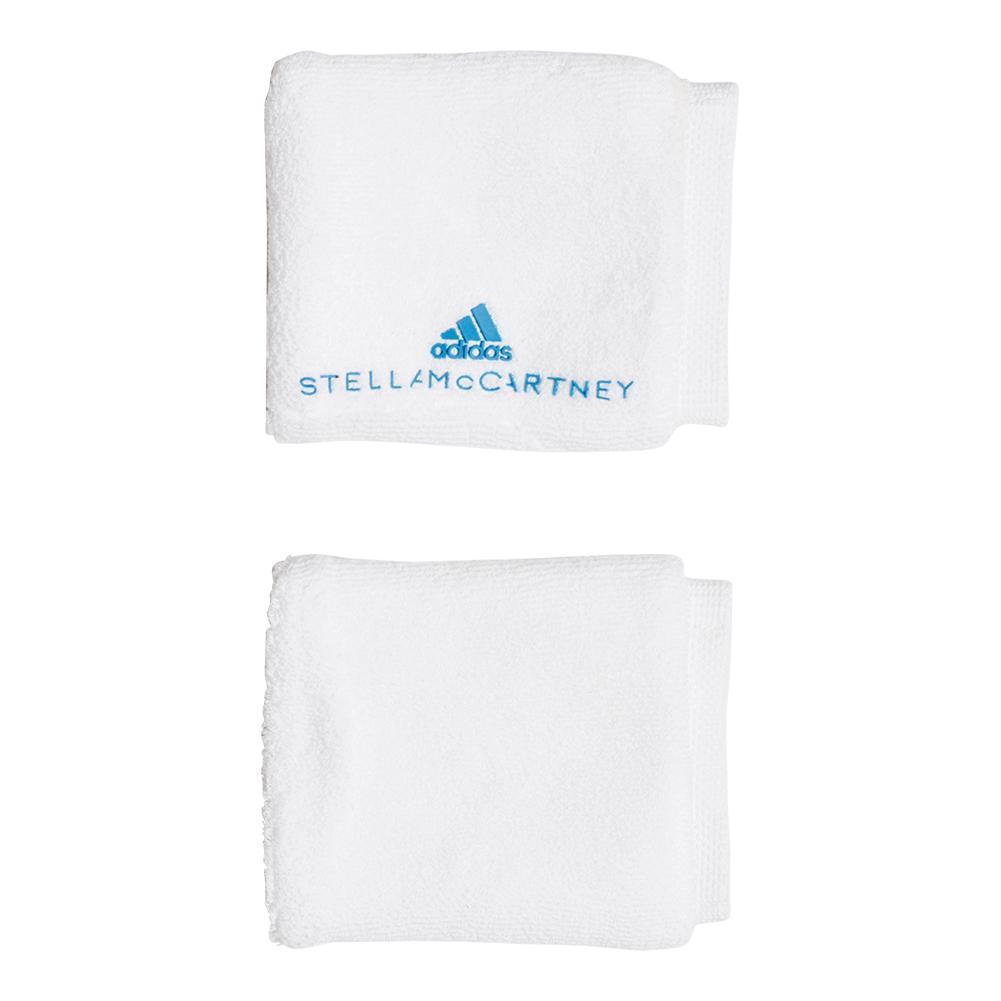 Women's Stella Mccartney Tennis Wristband White And Equipment Blue
