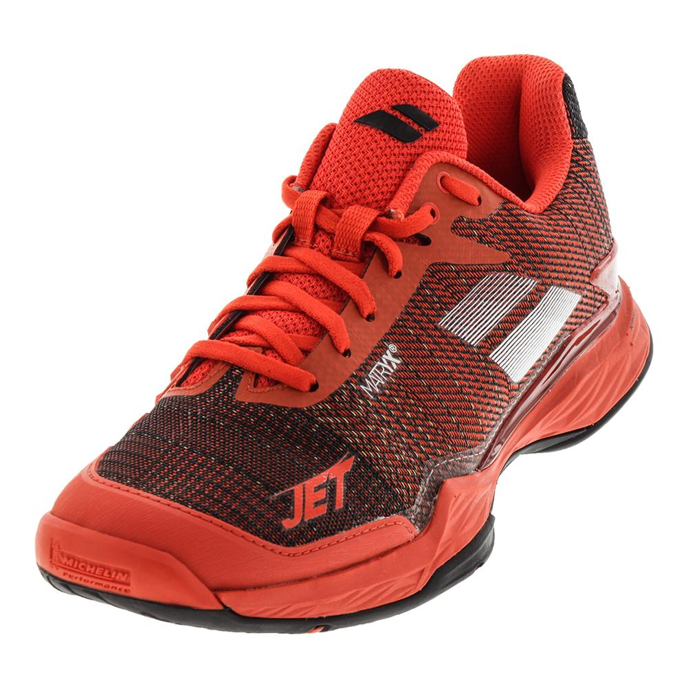 huge selection of 67528 1c908 Babolat Men s Jet Mach 2 All Court Tennis Shoes Orange and Black