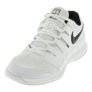 Men`s Air Zoom Vapor 10 Tennis Shoes White and Black