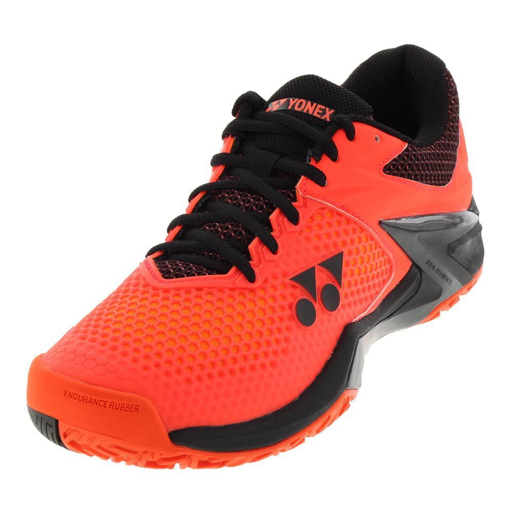 Men's Power Cushion Eclipsion 2 New York Tennis Shoes Orange And Black