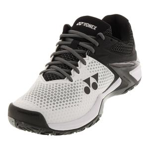 Men`s Power Cushion Eclipsion 2 Melbourne Tennis Shoes White and Black