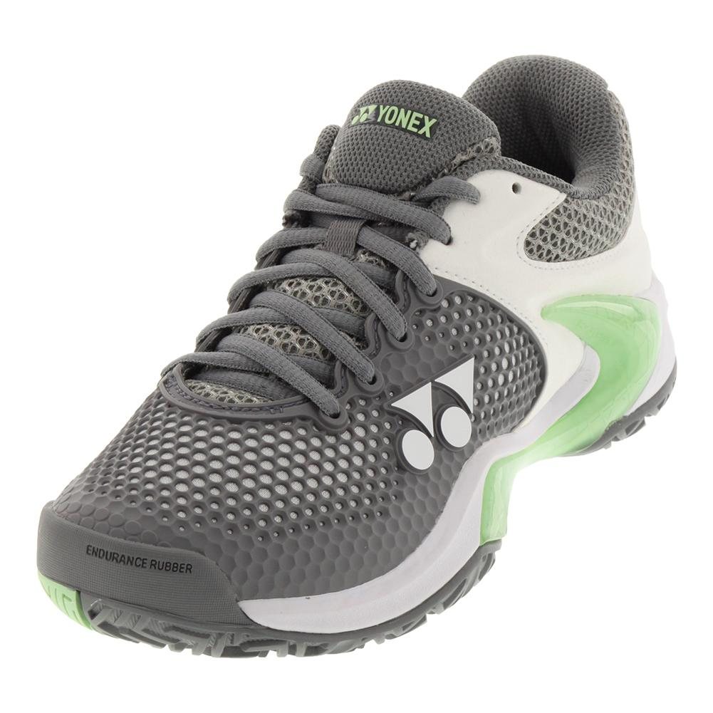Women's Power Cushion Eclipsion 2 Tennis Shoes Gray And Pale Green