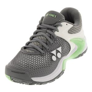 Women`s Power Cushion Eclipsion 2 Tennis Shoes Gray and Pale Green